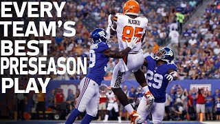 Every Team's Best Preseason Play | NFL