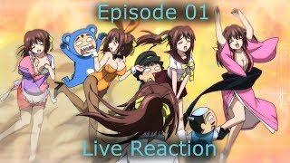 Sora no Otoshimono: Forte Episode 01 Live Reaction