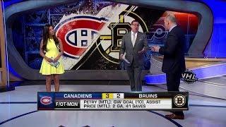 NHL Now:  Petry`s overtime winner:  Petry swats in the game winner against Bruins  Jan 15,  2019