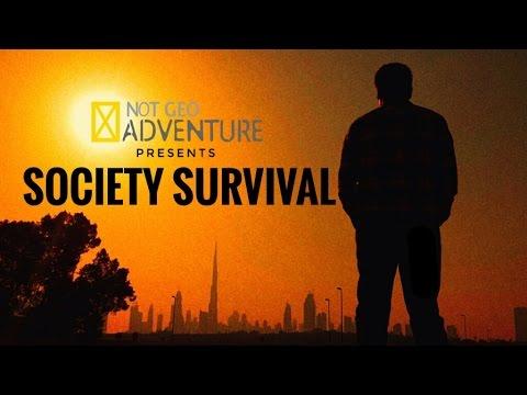 "NOT GEO Presents: ""SOCIETY SURVIVAL"" | Micro-Short Film"