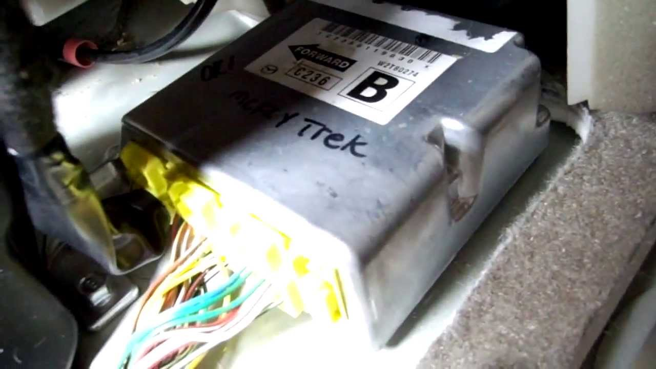 2001 mazda miata fuse box diagram    mazda    5 srs location and removal youtube     mazda    5 srs location and removal youtube
