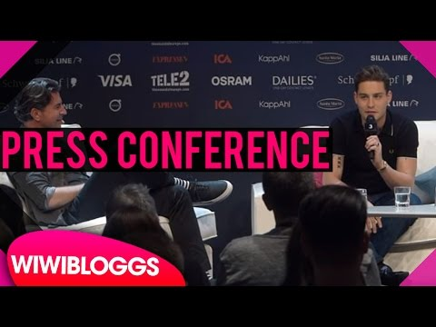 "The Netherlands press conference - Douwe Bob ""Slow Down"" Eurovision 2016 