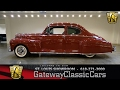 #7169 1947 Lincoln Coupe - Gateway Classic Cars of St. Louis