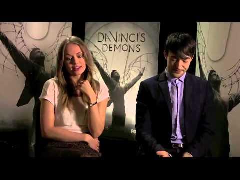 Blake Ritson & Laura Haddock talk about Da Vinci's Demons