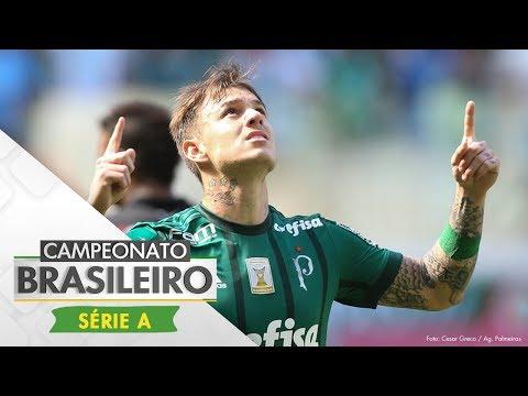Melhores Momentos - Gols de Palmeiras 4 x 2 Vitória - Campeonato Brasileiro (16/07/2017)