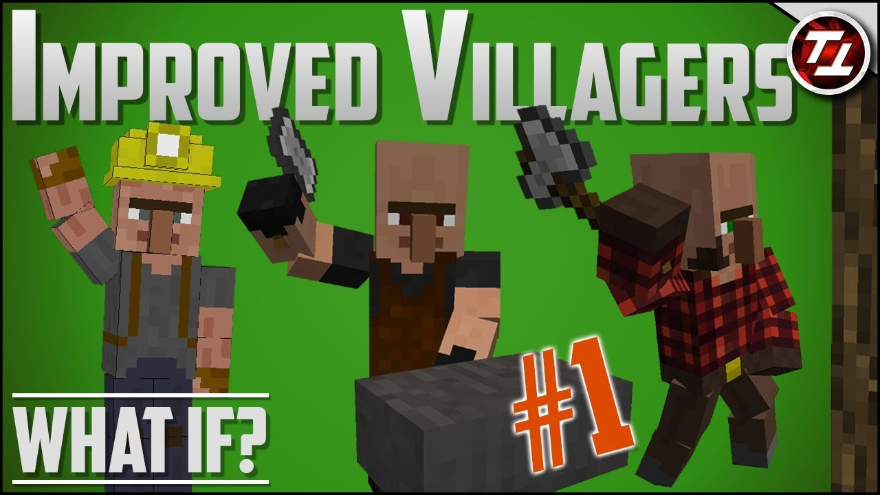 minecraft what if villagers mod