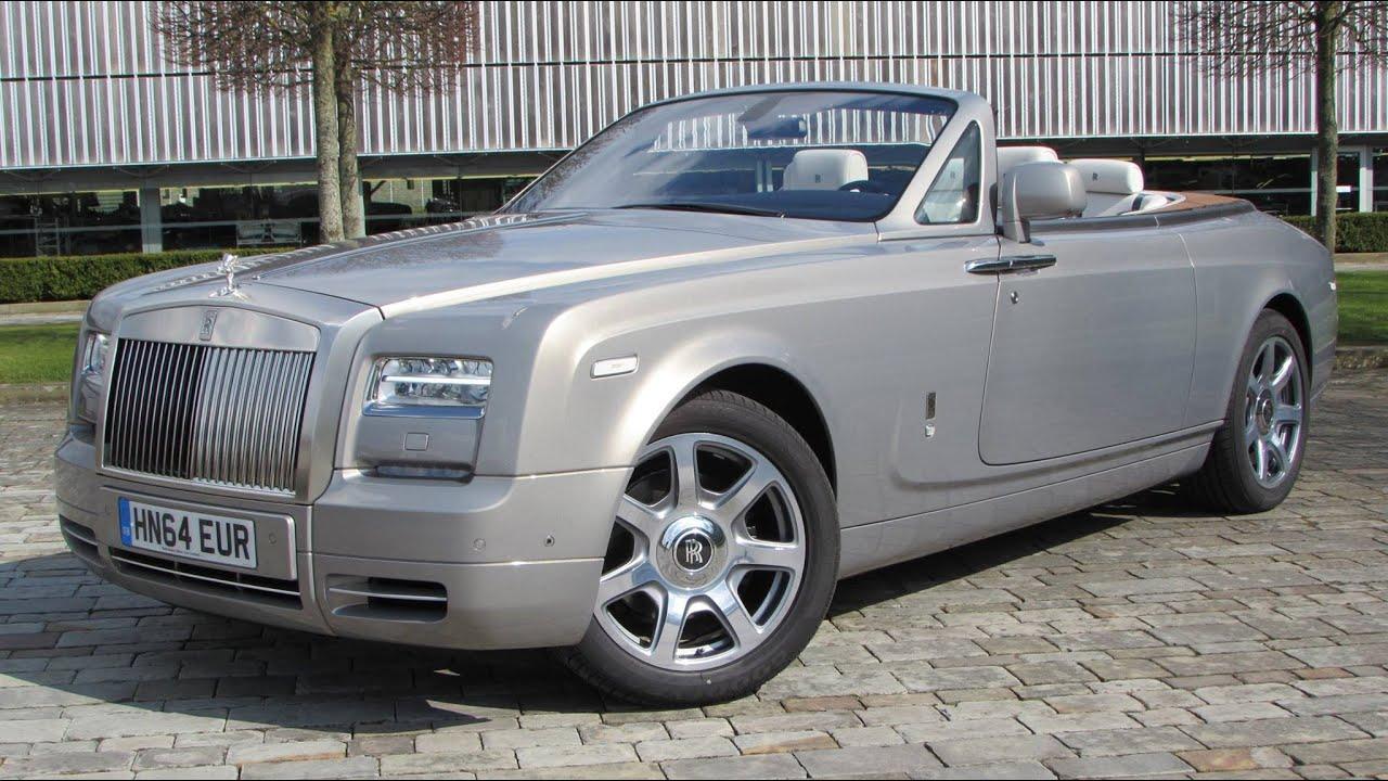 2015 Rolls-Royce Phantom Drophead Coupé Start Up, Exhaust