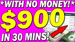 EARN $900 IN 30 MINS WITH A SIMPLE COPY AND PASTE STRATEGY: Make Money Online 2020!