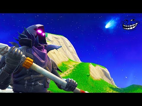 FORTNITE TROLLED EVERYONE!! *SECRET COMET MESSAGE* TILTED TOWERS