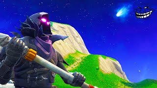 FORTNITE TROLLED EVERYONE!! *SECRET COMET MESSAGE* TILTED TOWERS | Chaos
