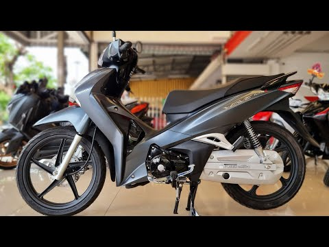 New Honda Wave 125i 2021 Metallic Matte Gray