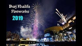 Dubai New Year fireworks 2019 Burj Khalifa Fireworks 2019 Dubai New Year fireworks 2019