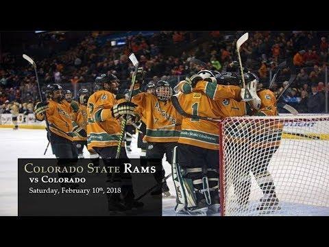 Hockey - CSU Rams vs Colorado - 02/10/2018