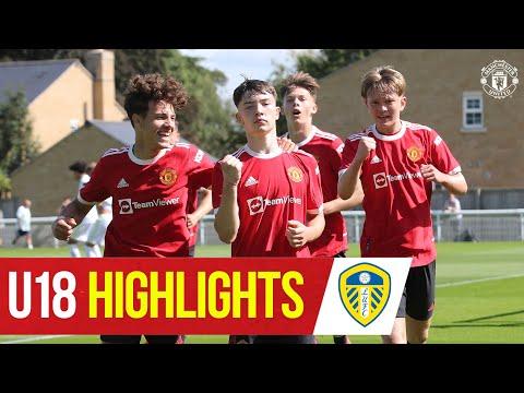 U18 Highlights |  Leeds 0-3 Manchester United |  The academy