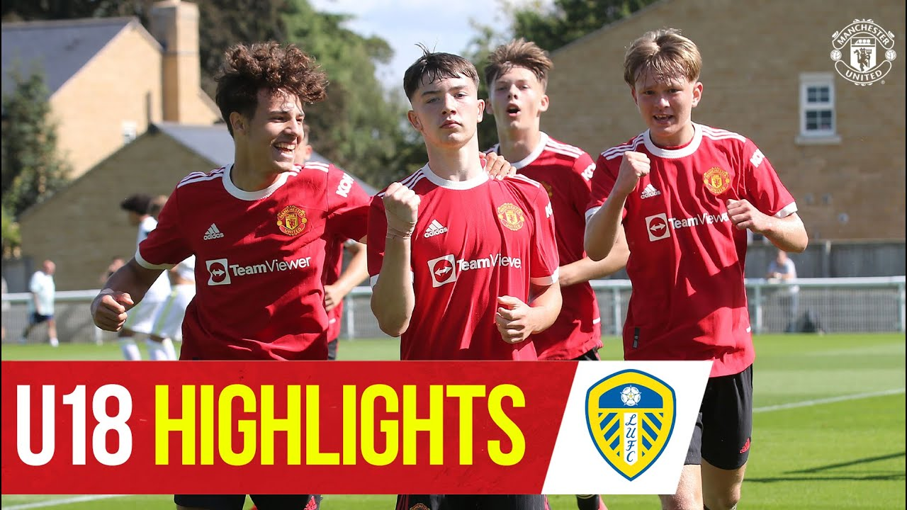 Download U18 Highlights | Leeds 0-3 Manchester United | The Academy