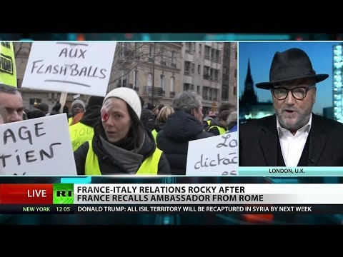 France and Italy clash over Yellow Vest Protests