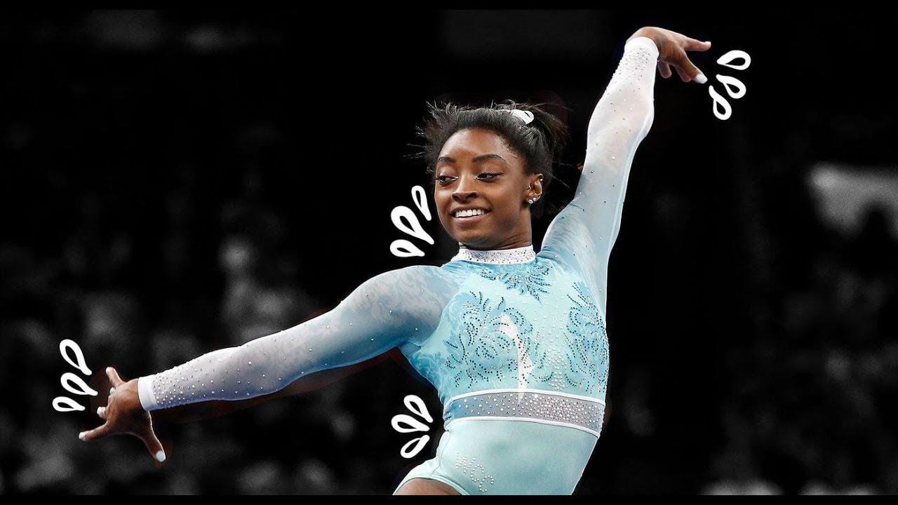 Simone biles floor mount evolution 2009 2018 youtube - Simone biles pics ...