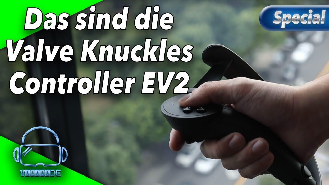 Das sind die überarbeiteten Knuckles Controller EV2 [Virtual Reality]