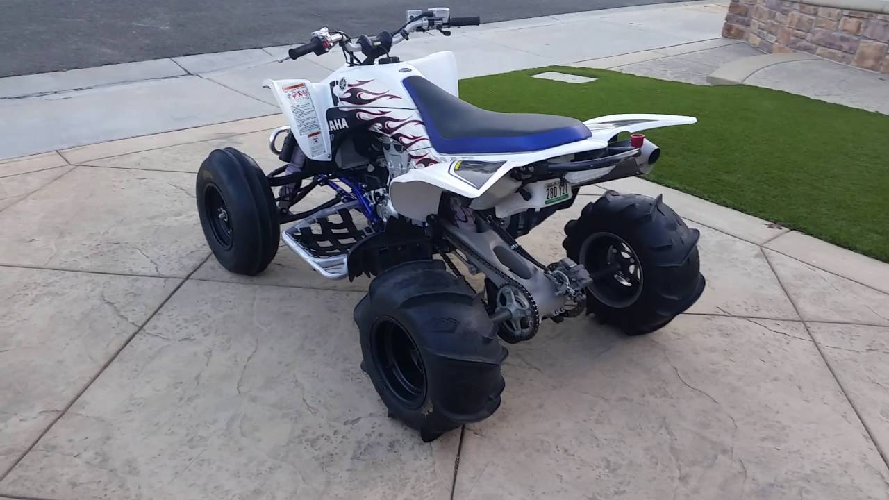 2007 YFZ 450 Quad Special Edition - YouTube