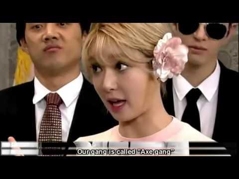 AOA Choa funny cut   Gangster's daughter