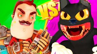 Картун Кэт vs Привет Сосед - ФИЛЬМ Ной Все Серии Подряд Cartoon Cat Hello Neighbor 3D Анимация