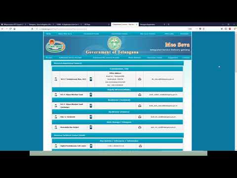 Telangana - How To Register A Marriage