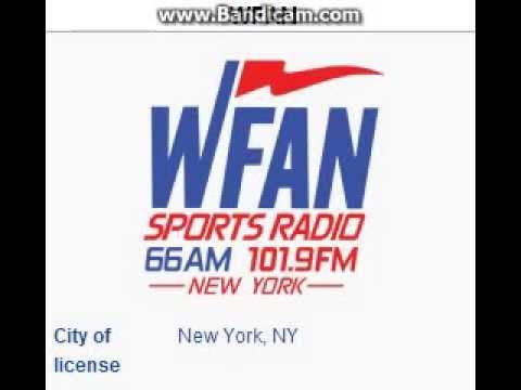 WFAN 660 / WFAN-FM Sports Radio 66 & 101.9 FM WFAN New York, NY TOTH ID at 3:00 a.m. 10/18/2014