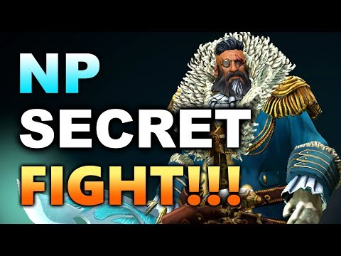 SECRET vs NP - Monitor vs Chair FIGHT!!! - MANILA MASTERS DOTA 2