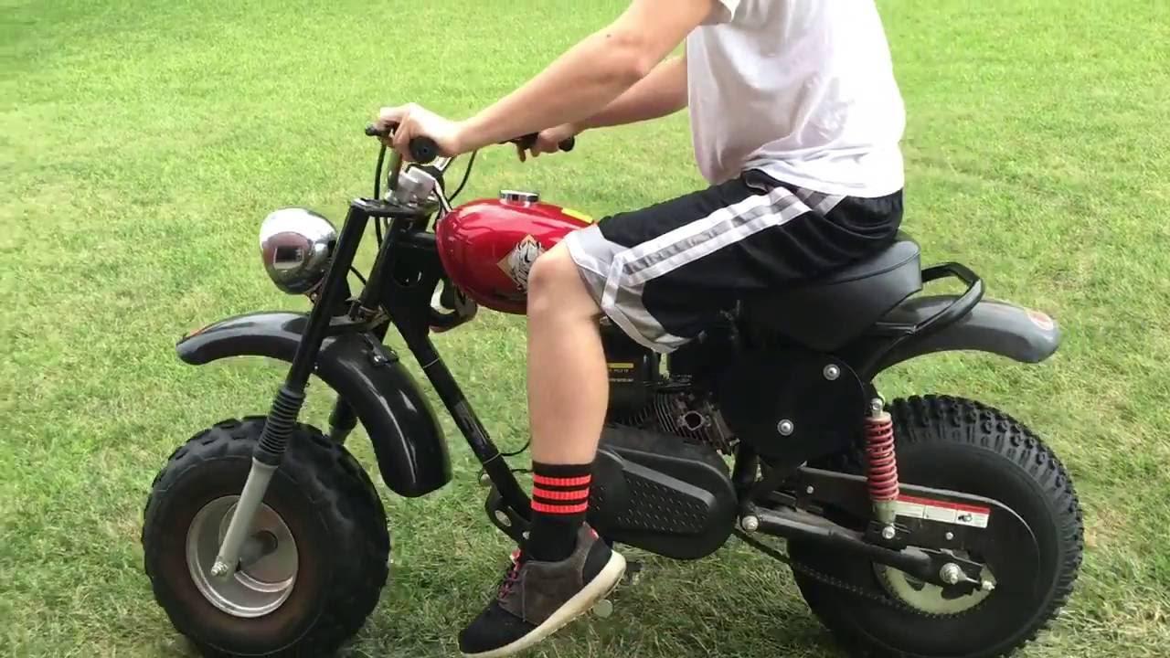 200cc Dirt Bike No Exhaust Youtube