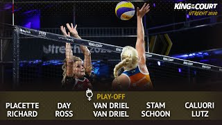 Women's Play-Offs - Phase 1 | Beach Volleyball | King of the Court Utrecht 2020