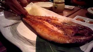 札幌すすきのにある 海味 はちきょう 別亭 おふくろ の 「ほっけ」です...