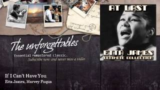 Etta James, Harvey Fuqua - If I Can