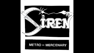 Siren (US) - Terrible Swift Sword [Single 1984]