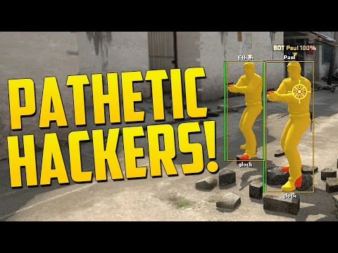 THE MOST PATHETIC HACKER! - CS GO Overwatch Funny Moments