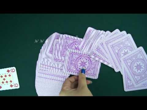 пластиковые карты--Modiano-Cristallo-purple1--покер обман.avi