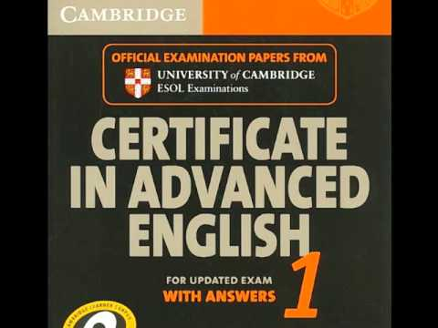 Cambridge CAE 1 Listening Test 1