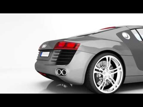 3D Animation Audi R8 von TRYXZ aus Havixbeck bei Münster