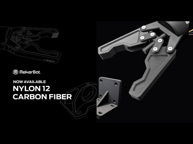 Introducing The NEW Nylon 12 Carbon Fiber