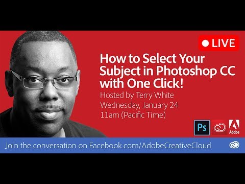 How to Select Your Subject in Photoshop CC with One Click