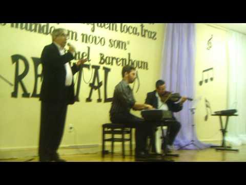 Boaventura canta Roberta - Tiago Callou: piano - Adailton Brandão: violino