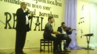 Baixar Boaventura canta Roberta - Tiago Callou: piano - Adailton Brandão: violino