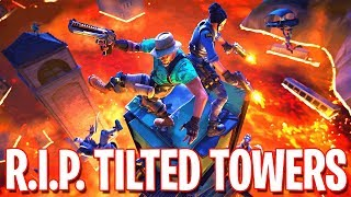 R.I.P. TILTED TOWERS !! | Fortnite Live Event ( Stream Playback 4-5-2019)