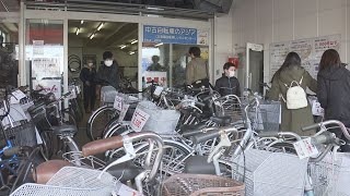自転車人気高まる 背景に例年とは違う事情も【HTBニュース】