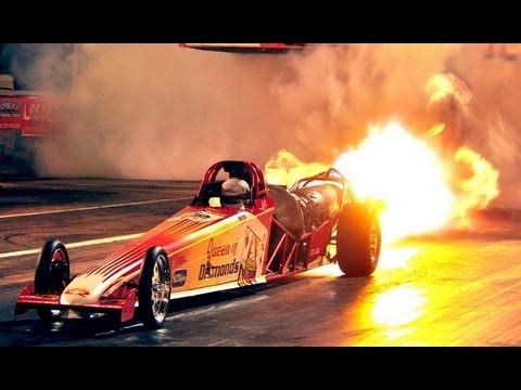 Smithy's 1/4 scale Rc jet dragster