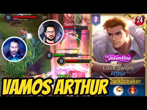 🥳 This Arthur Build is absolutely INSANE (Damage Build) | AoV | 傳說對決 | RoV | Liên Quân Mobile