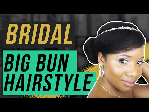 8 Bridal / Formal Hairstyles For Medium Length Natural Hair (Style 6)
