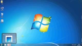 Windows 7 ekran görüntüsü alma ekran alıntısı