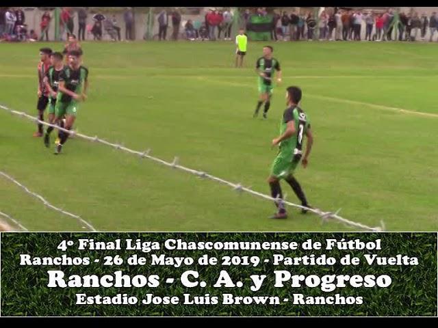 Atlético Ranchos Vs Progreso de Brandsen - 2° Tiempo