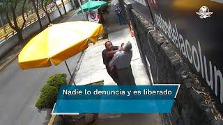 En junio de 2020, Lord Banqueta fue captado agrediendo a un adulto mayor y otras sobre Río de Mixcoac