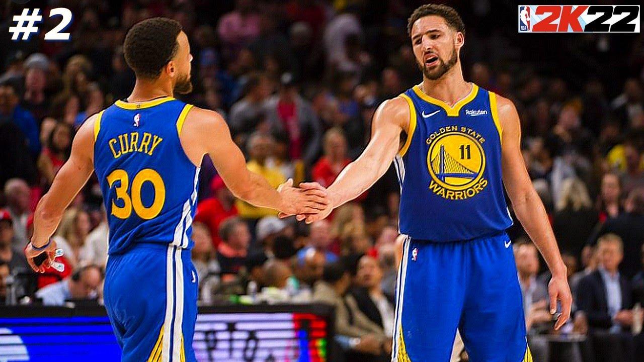 NBA 2k22, WARRIORS #2 : Capables de quoi ? Top 4, titre ? Ou Play in ?